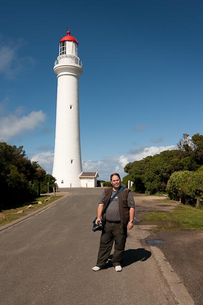 Walking to the Lighthouse at Anglesea. Photo by Barry Johnston.