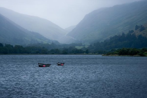 Photo of lake Tal-y-Llyn near Tywyn on the coast of Wales. Taken in July 2008.