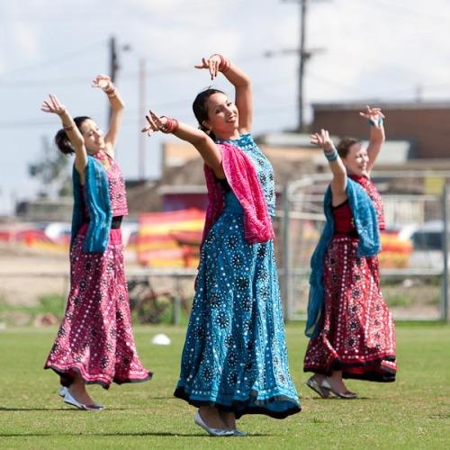 Indian Bollywood dancing...