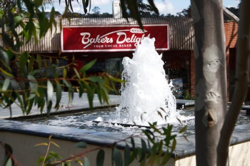A small water fountain in Eltham.