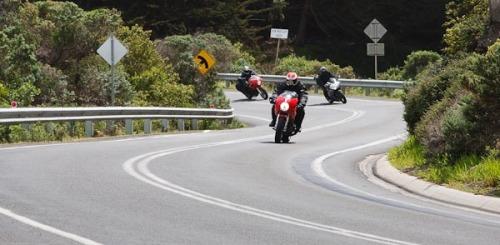 More bikers...